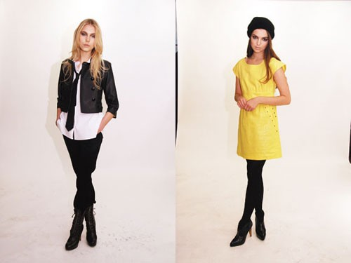 Looks from the Edie Rose for DKNY Jeans line