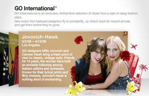 The long awaited Jovovich-Hawk for Target collection is now available on