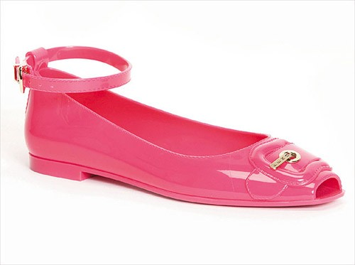 Just came across this cute pair of Fendi Jelly Ballet Flats while looking ...