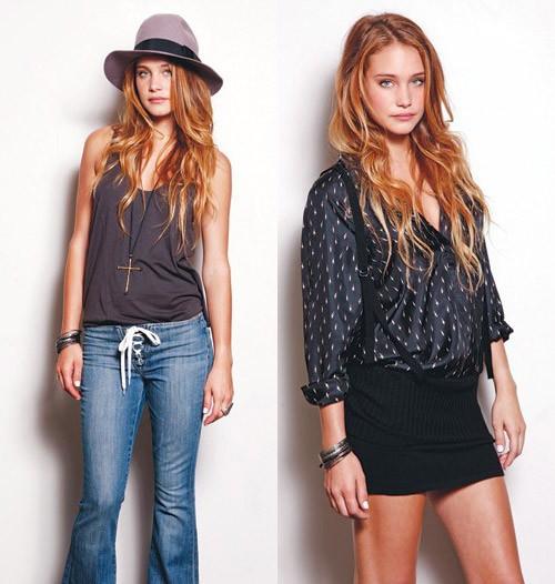 Erin Wasson Rvca Jeans