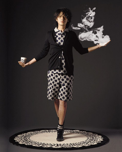 Full Look: COMME des GARCONS for H&M Collection