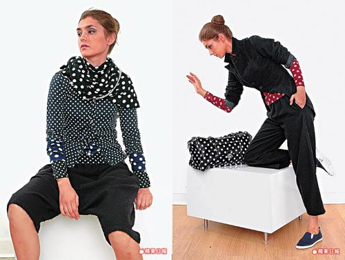 И в этом весеннем сезоне модный тренд: одежда.