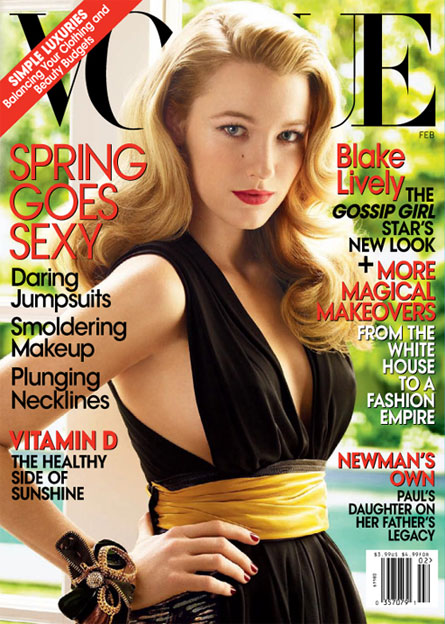 Blake Lively Cover VOGUE February 2009 | nitrolicious.com