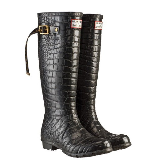 x Hunter Wellington Boots