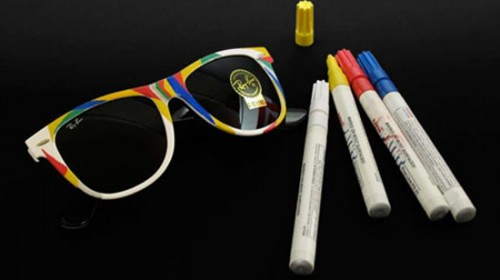 Ray Ban Wayfarer Sunglasses Colorize Kit