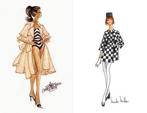 Sneak Peek: Barbie Fashion Show Sketches. barbie fashion show...