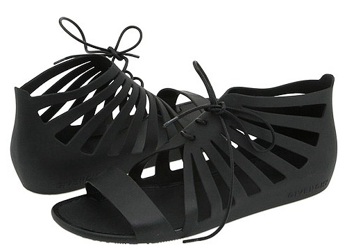 Givenchy Lace-Up Cage Jelly Sandals | nitro:licious - fashion, trends, h&m, shopping, sneakers & lifestyle...who's got flava? :  givenchy cut out lace up sandals