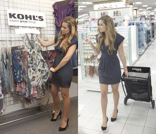 Later, Kohl's plans to sell the exclusive brand, LC Lauren Conrad,