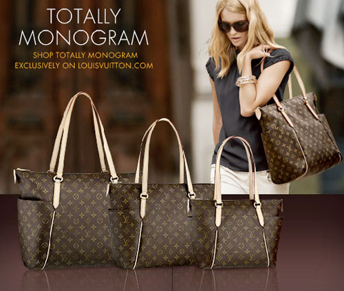 Louis Vuitton Launches Totally Monogram Tote