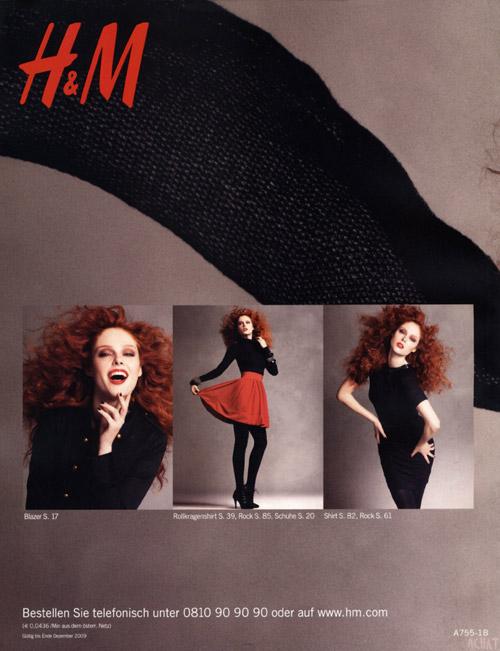coco rocha red hair. Coco Rocha