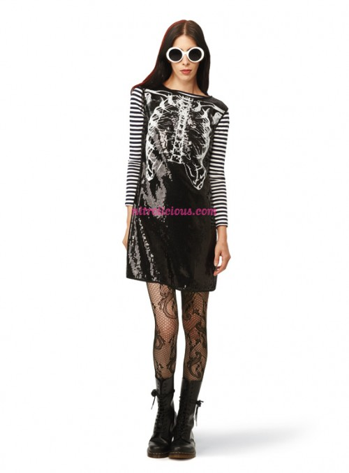 Rodarte for Target Ribcage Sequin Mini Dress?