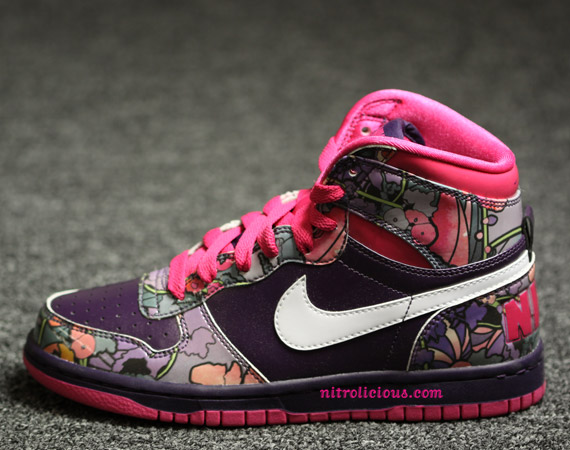 nike shoes high tops colorful. Big Nike High WMNS | Floral