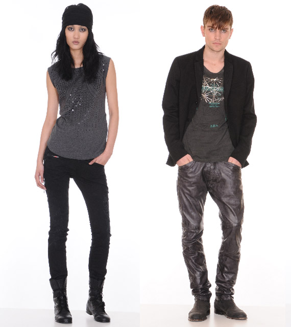 Diesel Rockin Dots Spring Summer 2010 Collection Preview