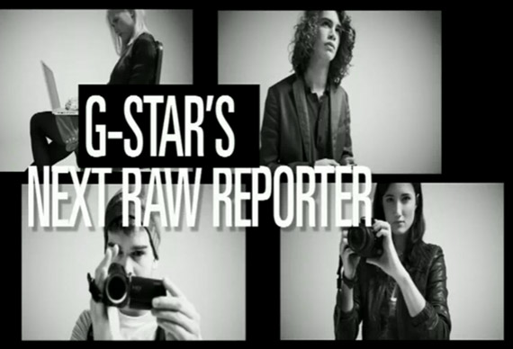 G Star is Seeking Rookie Runway Reporters for NYFW