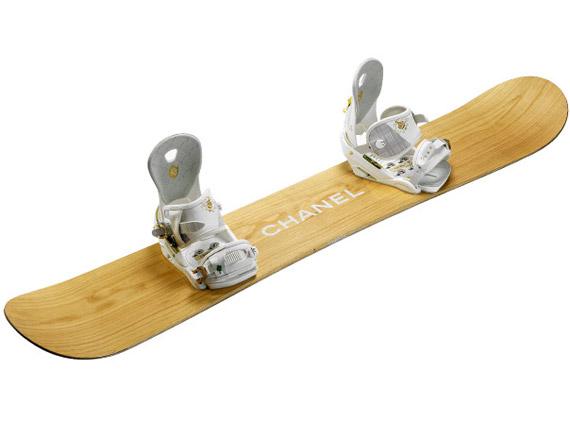сноуборды, Chanel, Chanel Snowboards.