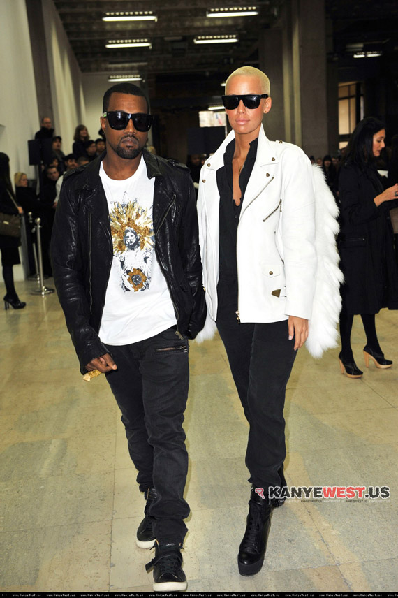 amber rose and kanye west. Kanye West, Amber Rose