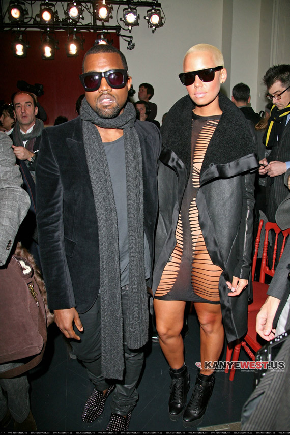 amber rose and kanye west pictures. Kanye West amp; Amber Rose