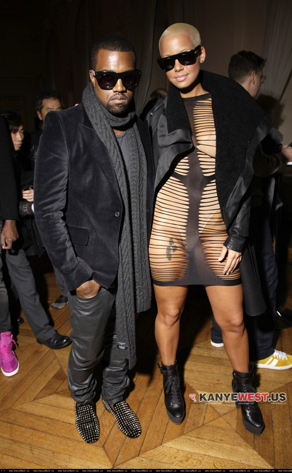 amber rose and kanye west. Kanye West amp; Amber Rose