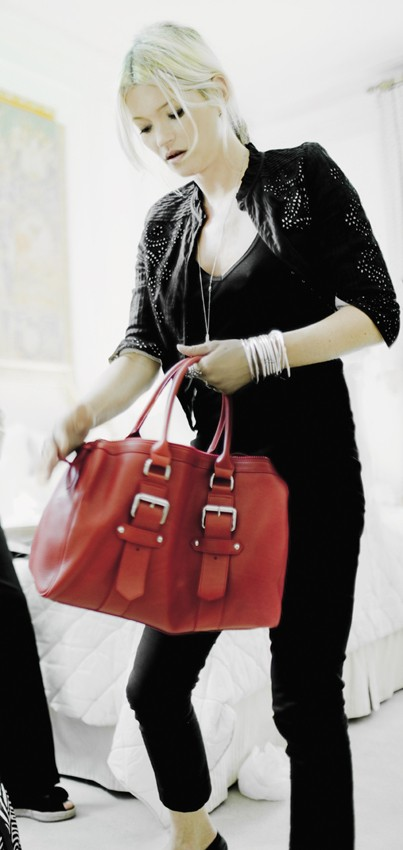 Kate Moss for Longchamp Handbag Collection :  stylish clutch bags hobo