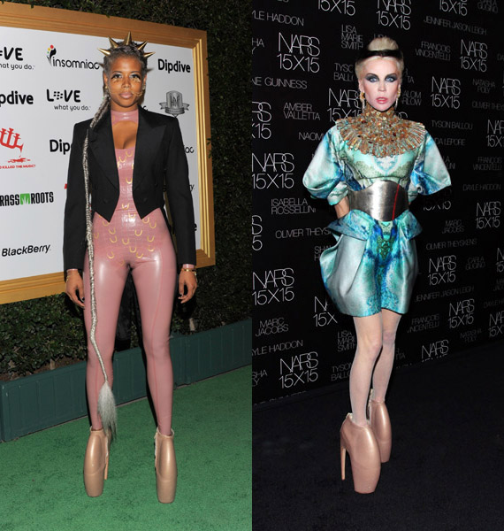 Lady Gaga vs Daphne Guinness