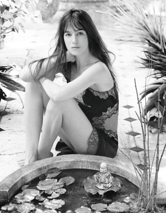 Charlotte Gainsbourg for Balenciaga Paris Fragrance
