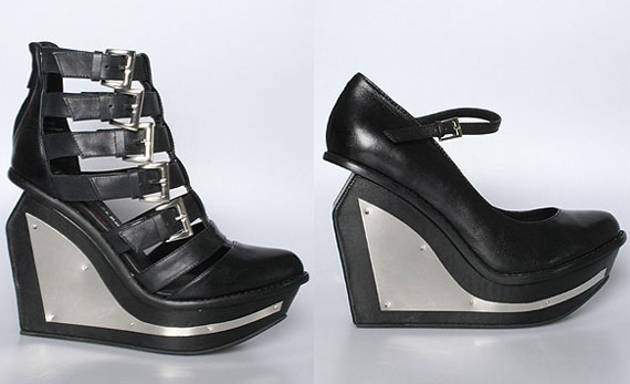 Jeffrey Campbell Clinic & X On Wedges Available Now