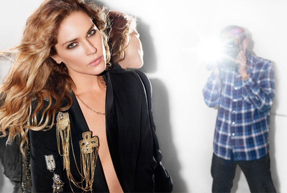 Erin Wasson for Pinko Spring/Summer 2010 Ad Campaign