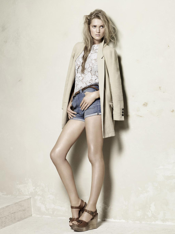 Zara Spring/Summer 2010 Collection Look Book