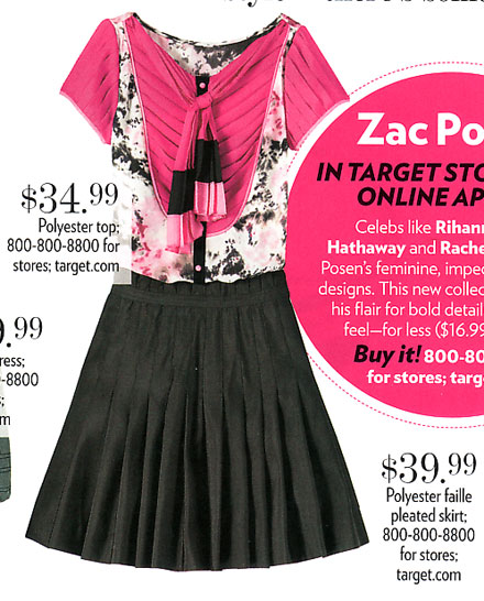 Zac Posen for Target | People StyleWatch Magazine