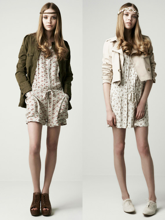 Zara Woman March 2010 Lookbook