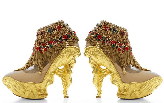 Alexander McQueen Fall 2010 Shoes + Bags