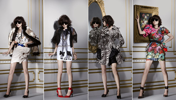 Lanvin for H&M   Womens Lookbook