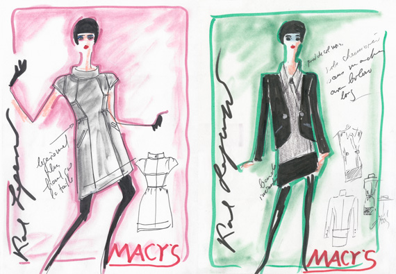 Karl Lagerfeld for Impulse Only at Macy's | Sketches