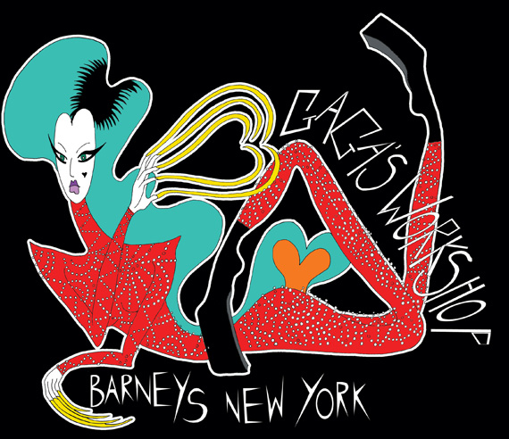 Barneys New York Holiday 2011 Campaign: Lady Gagas Workshop