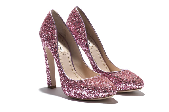 Miu Miu Glitter Pumps   Fall 2011
