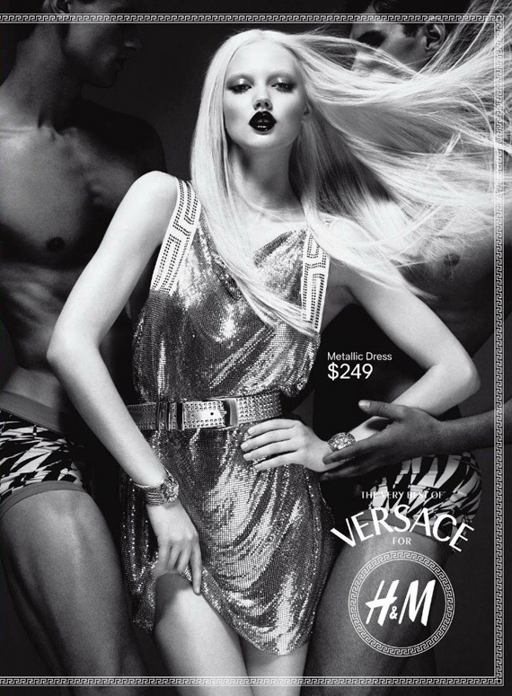 Versace for H&M – Ad Campaign Preview #3