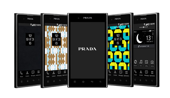 Prada presents the Prada phone by LG 3.0