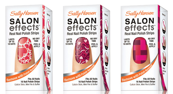 Sally Hansen Salon Effects Valentines Day 2012