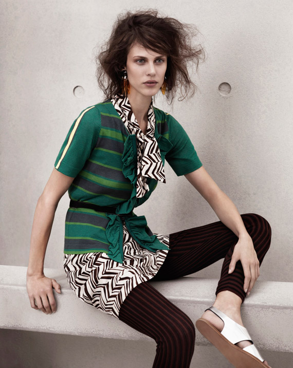 Marni at H&M Womens & Mens Lookbook