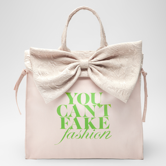 eBay x CFDA – YOU CAN'T FAKE FASHION Designer Totes