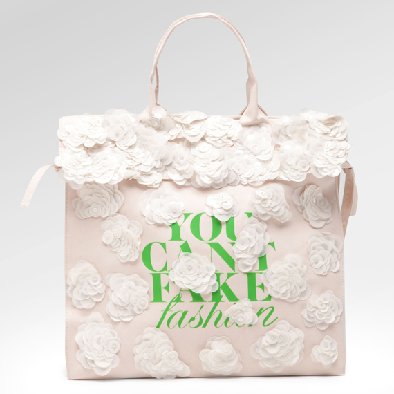 eBay x CFDA – YOU CAN'T FAKE FASHION Designer Totes