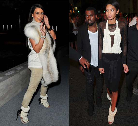 Kanye West by Giuseppe Zanotti Beaded Sandal