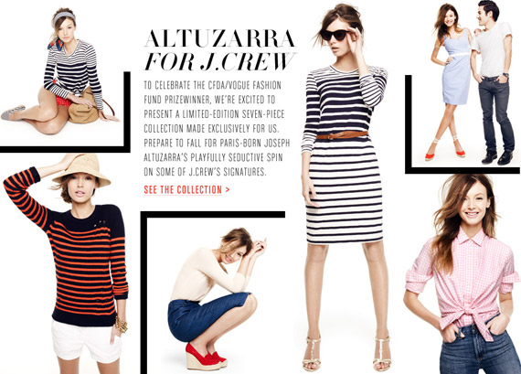 Altuzarra, Pamela Love & Creatures of the Wind for J.Crew
