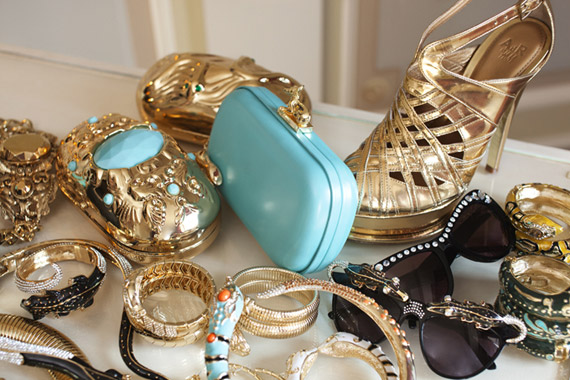 Anna Dello Russo at H&M Accessories Collection