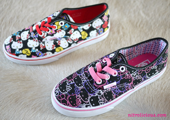 Hello Kitty x VANS Spring/Summer 2012 Collection