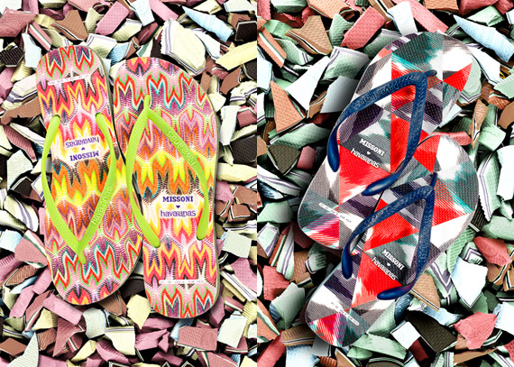 Missoni x Havaianas Summer 2012 Collection