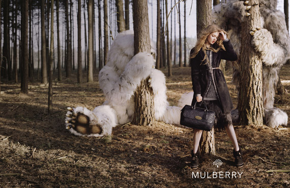 Mulberry Autumn/Winter 2012 Ad Campaign
