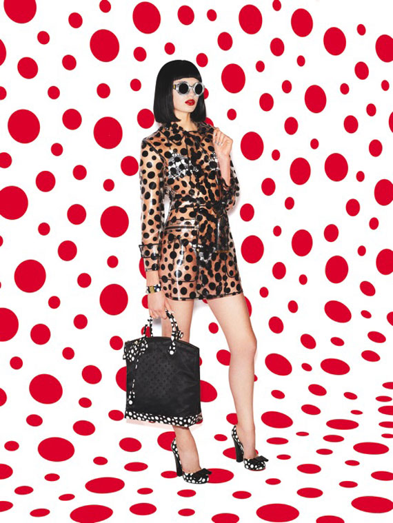 Louis Vuitton x Yayoi Kusama Infinitely Kusama Lookbook