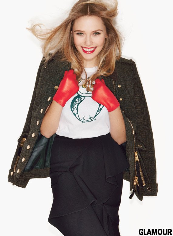 Elizabeth Olsen for Glamour September 2012
