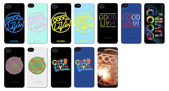 Incipio x Good Livin' Case Collection with Greg Lutzka
